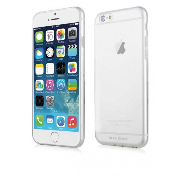 Husa Slim G-case iPhone 6/6s Plus Transparenta imagine itelmobile.ro 2021