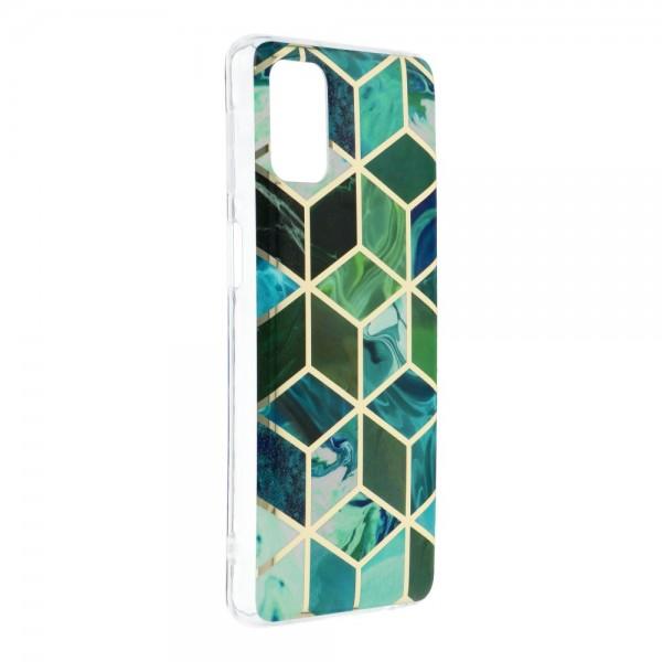 Husa Upzz Silicone Marble Cosmo Compatibila Cu Samsung Galaxy M31s, Model 8 imagine itelmobile.ro 2021