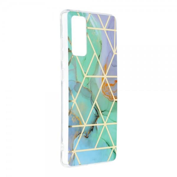 Husa Upzz Silicone Marble Cosmo Compatibila Cu Samsung Galaxy S20 Fe, Model 3 imagine itelmobile.ro 2021