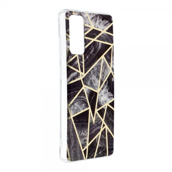 Husa Upzz Silicone Marble Cosmo Compatibila Cu Samsung Galaxy S20 Fe, Model 7 imagine itelmobile.ro 2021
