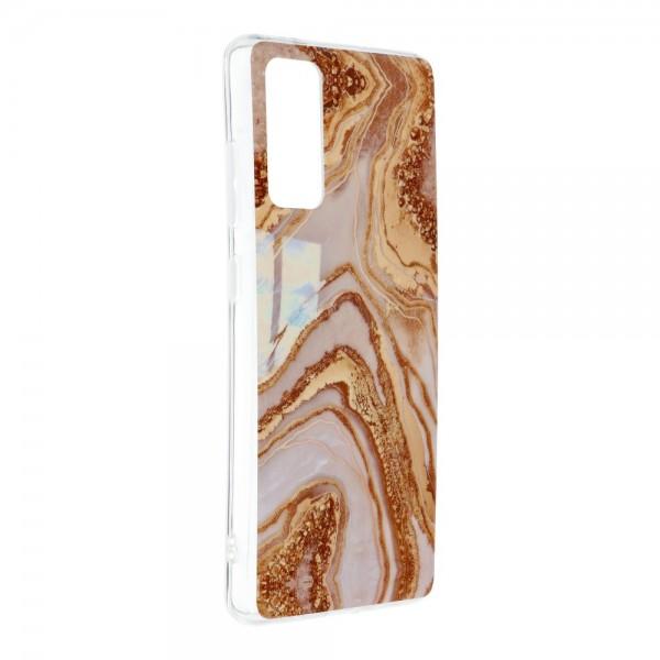 Husa Upzz Silicone Marble Cosmo Compatibila Cu Samsung Galaxy S20 Fe, Model 9 imagine itelmobile.ro 2021