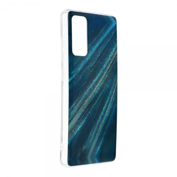 Husa Upzz Silicone Marble Cosmo Compatibila Cu Samsung Galaxy S20 Fe, Model 10 imagine itelmobile.ro 2021
