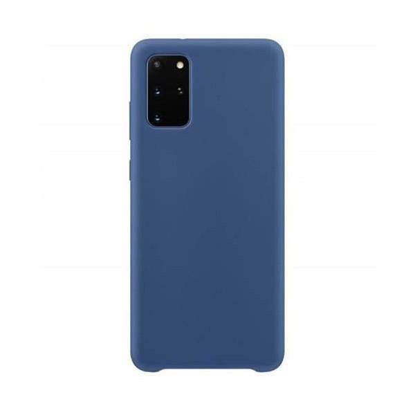 Husa Premium Upzz No Logo Soft Silicon Compatibila Cu Samsung Galaxy S20 Fe, Invelis Alcantara La Interior, Albastru imagine itelmobile.ro 2021