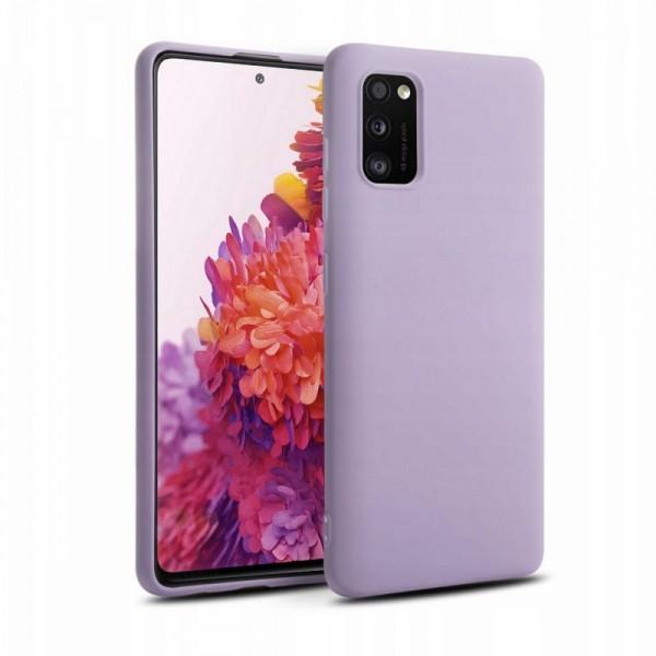 Husa Premium Upzz Liquid Silicon Pentru Samsung Galaxy S20 Fe , Cu Invelis Alcantara La Interior , Violet imagine itelmobile.ro 2021