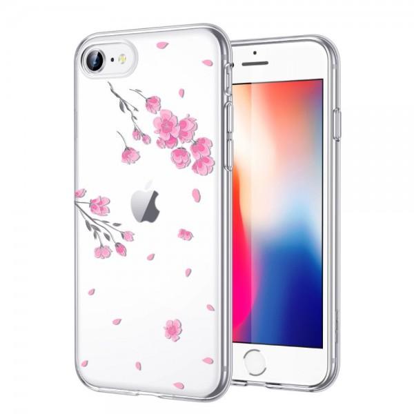 Husa Premium Spate Esr Mania iPhone 7 / 8 / Se 2 ( 2020 ), Cherry Blossom imagine itelmobile.ro 2021