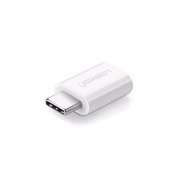 Adaptor Ugreen Micro Usb La Type C Alb imagine itelmobile.ro 2021