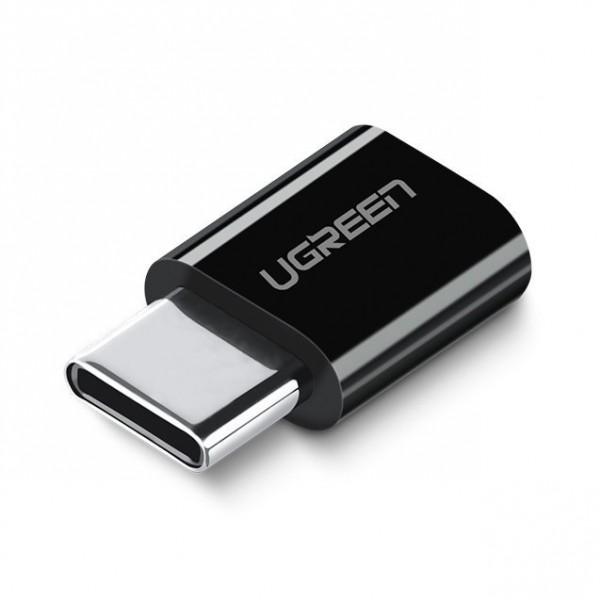Adaptor Ugreen Micro Usb La Type C Negru imagine itelmobile.ro 2021
