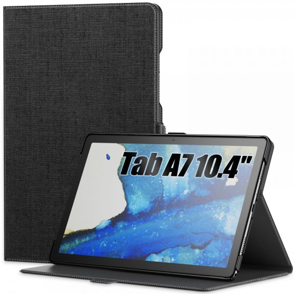 Husa Tableta Upzz Infiland Classic Pentru Samsung Galaxy Tab A7 10,4inch , T500 / T505, Negru imagine itelmobile.ro 2021