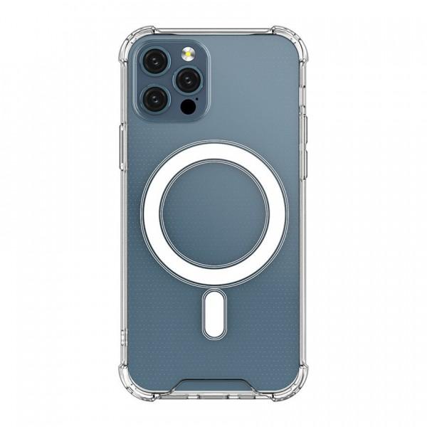 Husa Premium Upzz Magnetic Case Magsafe Compatibila Cu iPhone 12 / 12 Pro, Tehnologie Air Cushion imagine itelmobile.ro 2021