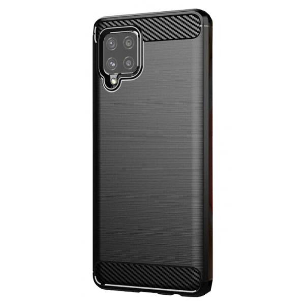 Husa Spate Upzz Carbon Pro Samsung Galaxy A42 5g, Negru imagine itelmobile.ro 2021