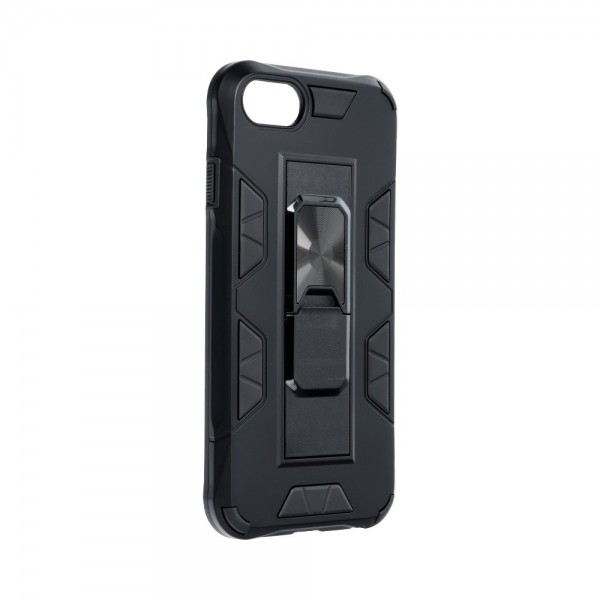 Husa Premium Upzz Defender Antishock Compatibila Cu iPhone 7 / 8 / Se 2 ,negru -stand Magnetic Pe Spate imagine itelmobile.ro 2021