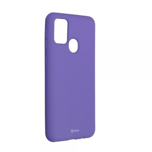 Husa Spate Silicon Roar Jelly Samsung Galaxy M21 - Mov imagine itelmobile.ro 2021