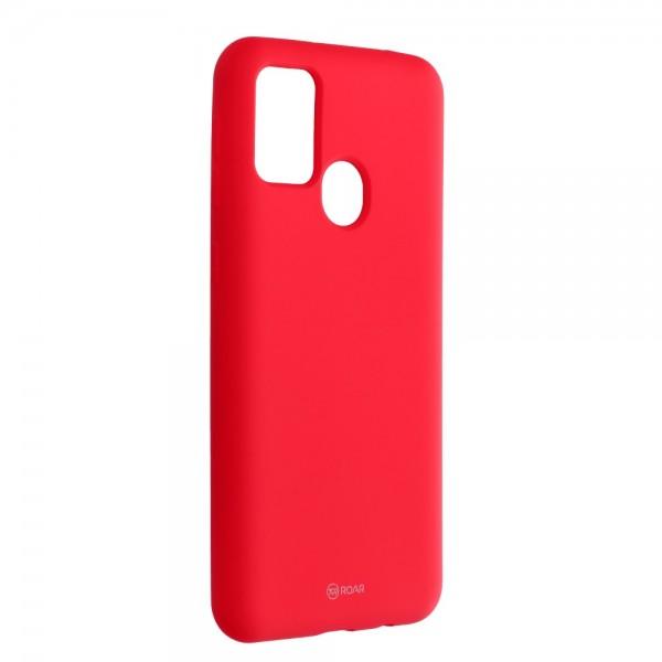 Husa Spate Silicon Roar Jelly Samsung Galaxy M21 - Roz imagine itelmobile.ro 2021