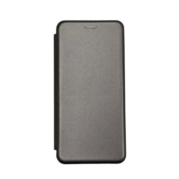Husa Flip Carte Cu Magnet Lux Upzz Compatibila Cu Huawei P Smart 2021, Gri imagine itelmobile.ro 2021