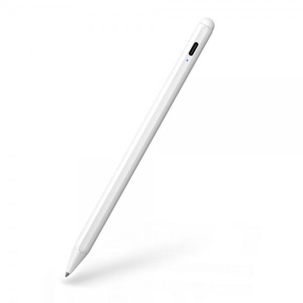 Stylus Upzz Digital Pen Pentru Tablete Ipad, Alb Buton Touch imagine itelmobile.ro 2021