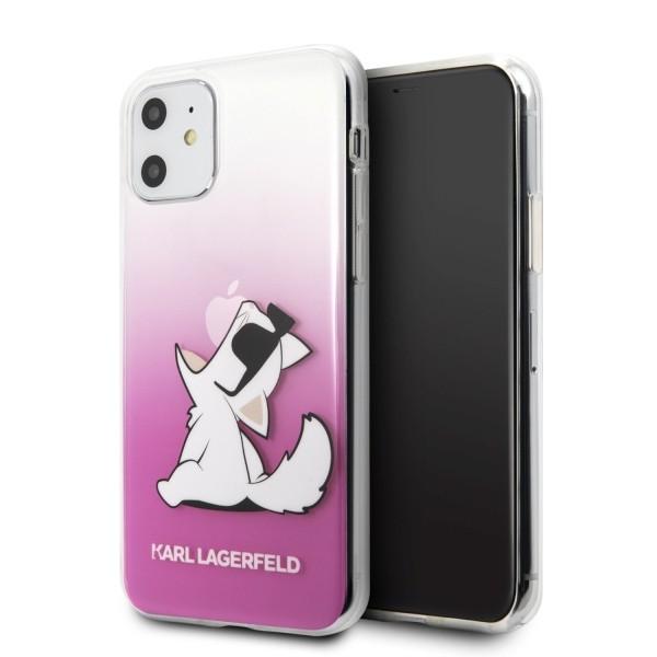 Husa Originala Karl Lagerfeld iPhone 11, Colectia Choupette Fun, Roz - Klhcn61cfnrcpi imagine itelmobile.ro 2021
