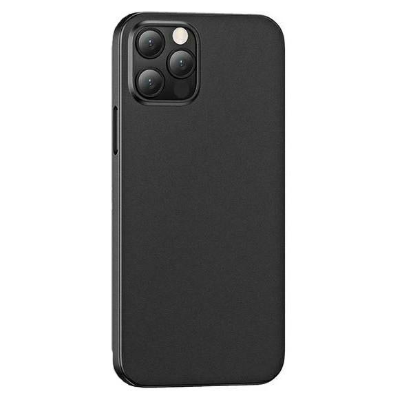 Husa Ultra Slim Usams Gentle Compatibila Cu iPhone 12 Pro Max - Negru imagine itelmobile.ro 2021