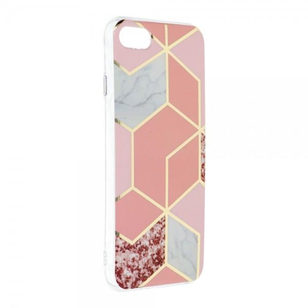 Husa Upzz Silicone Marble Cosmo Compatibila Cu iPhone 7 / 8 / Se 2, Model 2 imagine itelmobile.ro 2021