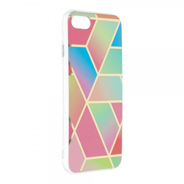 Husa Upzz Silicone Marble Cosmo Compatibila Cu iPhone 7 / 8 / Se 2, Model 4 imagine itelmobile.ro 2021