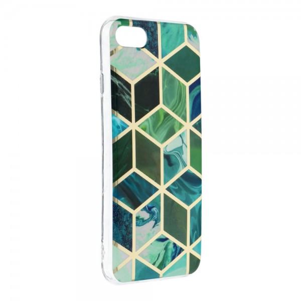 Husa Upzz Silicone Marble Cosmo Compatibila Cu iPhone 7 / 8 / Se 2, Model 8 imagine itelmobile.ro 2021