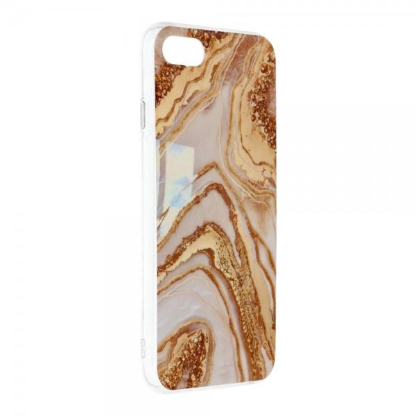 Husa Upzz Silicone Marble Cosmo Compatibila Cu iPhone 7 / 8 / Se 2, Model 9 imagine itelmobile.ro 2021
