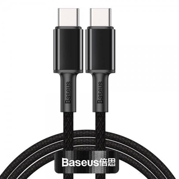 Cablu Premium Baseus Usb Type-c La Usb Type-c, Power Delivery 100w 5a, 1m Lungime - Negru - Catgd-01 imagine itelmobile.ro 2021