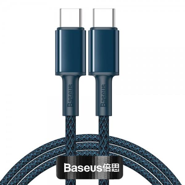 Cablu Premium Baseus Usb Type-c La Usb Type-c, Power Delivery 100w 5a, 1m Lungime, Albastru - Catgd-03 imagine itelmobile.ro 2021