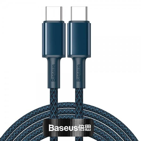 Cablu Premium Baseus Usb Type-c La Usb Type-c, Power Delivery 100w 5a, 2m Lungime, Albastru - Catgd-a03 imagine itelmobile.ro 2021