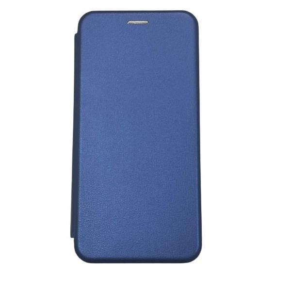 Husa Flip Carte Cu Magnet Lux Upzz Compatibila Cu Huawei P Smart 2021, Albastru imagine itelmobile.ro 2021
