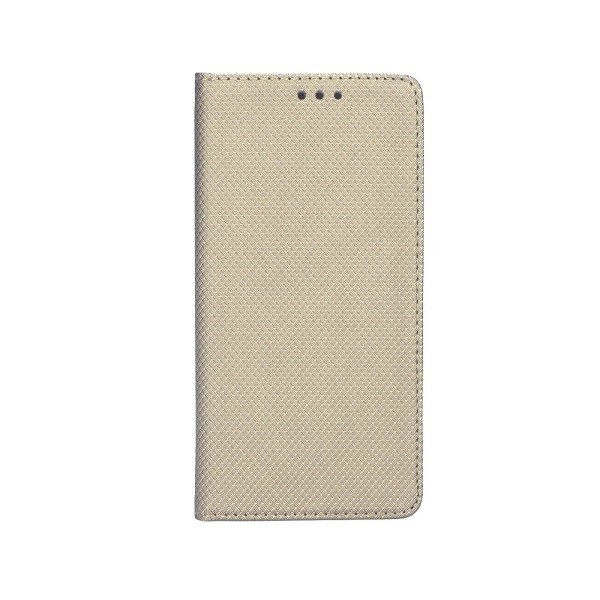 Husa Flip Cover Upzz Smart Case Pentru Samsung Galaxy A20s, Gold imagine itelmobile.ro 2021