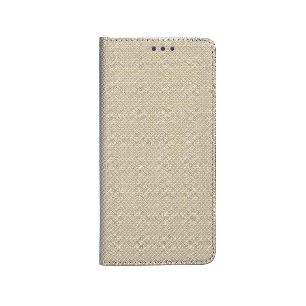 Husa Flip Cover Upzz Smart Case Pentru Samsung Galaxy A51, Gold imagine itelmobile.ro 2021