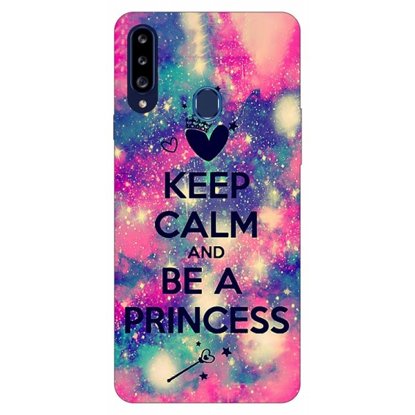Husa Silicon Soft Upzz Print Samsung Galaxy A20s Model Be Princess imagine itelmobile.ro 2021