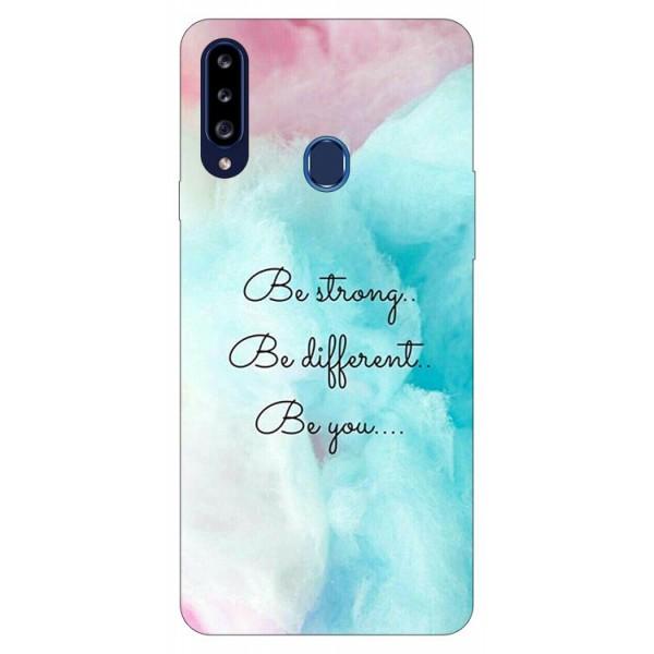 Husa Silicon Soft Upzz Print Samsung Galaxy A20s Model Be You imagine itelmobile.ro 2021