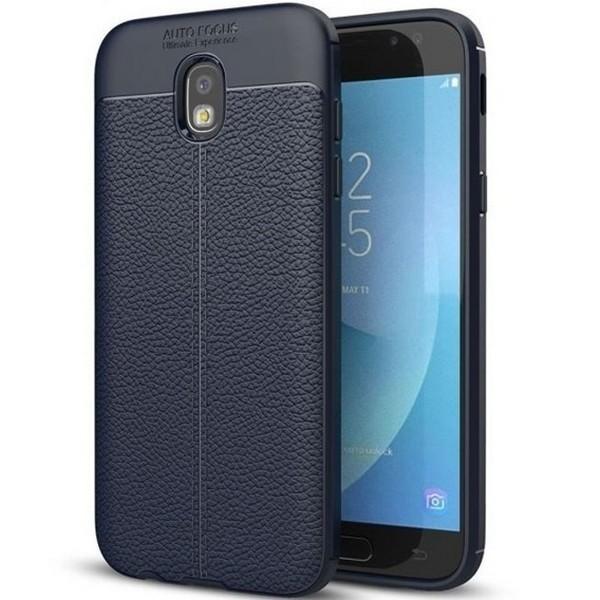Husa Spate Slim Leather Model Pentru Samsaung Galaxy J5 2017, Albastru imagine itelmobile.ro 2021