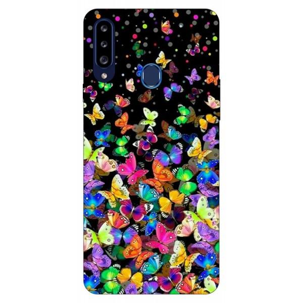 Husa Silicon Soft Upzz Print Samsung Galaxy A20s Model Colorature imagine itelmobile.ro 2021