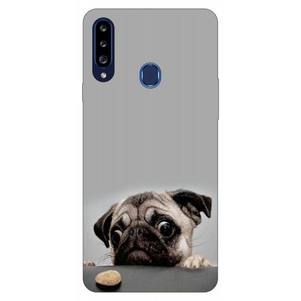 Husa Silicon Soft Upzz Print Samsung Galaxy A20s Model Dog imagine itelmobile.ro 2021