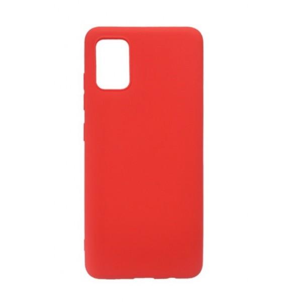 Husa Ultra Slim Upzz Candy Pentru Samsung Galaxy A02s,1mm Grosime , Rosu imagine itelmobile.ro 2021