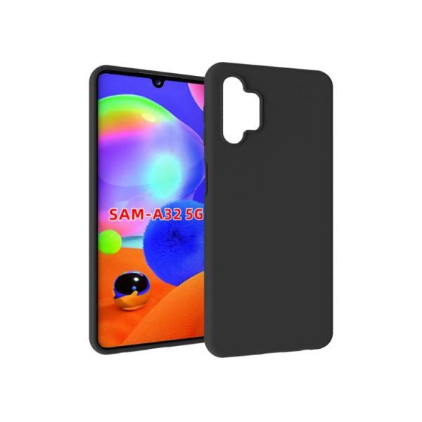 Husa Slim Silicon Upzz Samsung Galaxy A32 5g, Negru imagine itelmobile.ro 2021