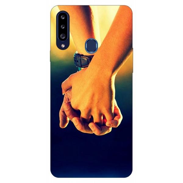 Husa Silicon Soft Upzz Print Samsung Galaxy A20s Model Together imagine itelmobile.ro 2021