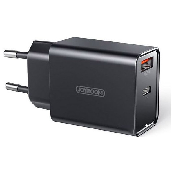 Incarcator Retea Joyroom Fast Charger, 18w, Quick Charge 3.0 1 X Usb, 1x Usb Type-c, Model L-qp183 imagine itelmobile.ro 2021