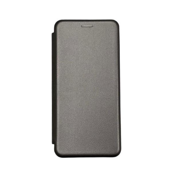 Husa Flip Carte Cu Magnet Lux Upzz Compatibila Cu Samsung Galaxy A20s, Gri imagine itelmobile.ro 2021