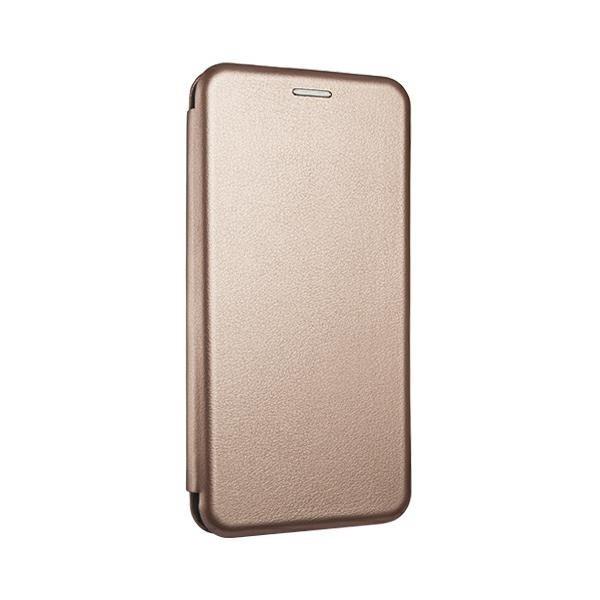 Husa Flip Carte Cu Magnet Lux Upzz Compatibila Cu Samsung Galaxy A20s, Rose Gold imagine itelmobile.ro 2021