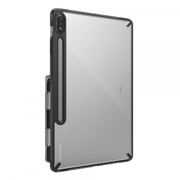 Husa Tableta Ringke Fushion Pc Case Compatibila Cu Galaxy Tab S7 11', Transparenta Cu Rama Fumurie imagine itelmobile.ro 2021