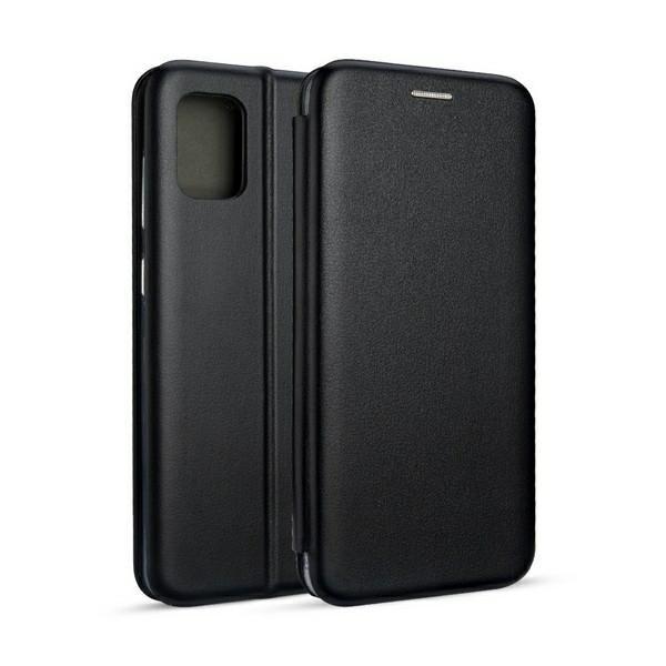 Husa Flip Carte Cu Magnet Lux Upzz Compatibila Cu Samsung Galaxy M31s, Negru imagine itelmobile.ro 2021