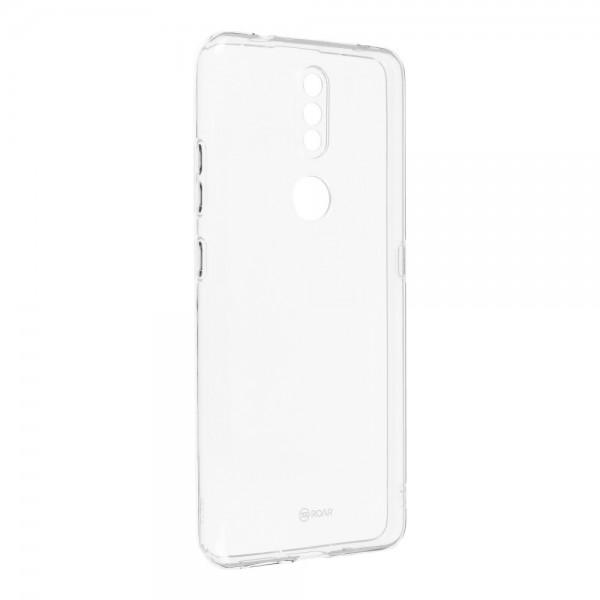 Husa Spate Slim Roar Jelly Pentru Nokia 2.4, Transparenta, Anti - Alunecare imagine itelmobile.ro 2021
