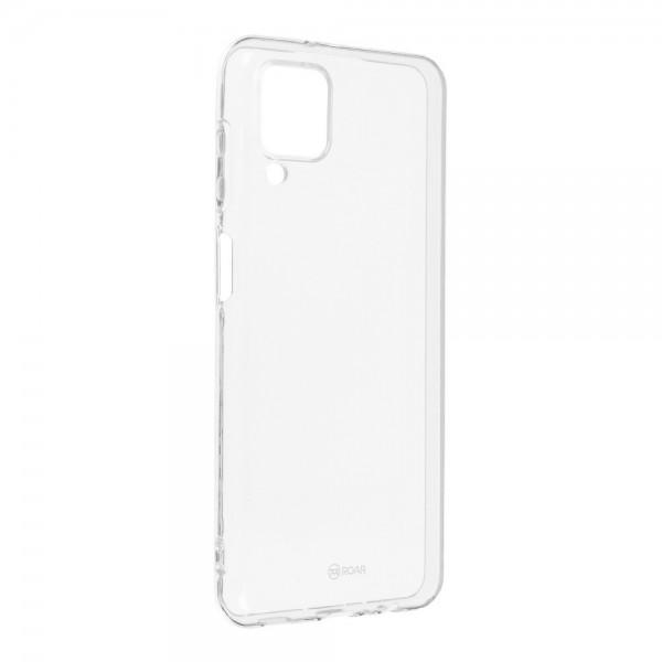 Husa Spate Slim Roar Jelly Pentru Samsung Galaxy A12, Transparenta, Anti - Alunecare imagine itelmobile.ro 2021
