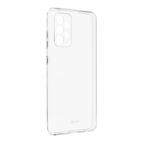 Husa Spate Slim Roar Jelly Pentru Samsung Galaxy A52 5g, Transparenta, Anti - Alunecare imagine itelmobile.ro 2021