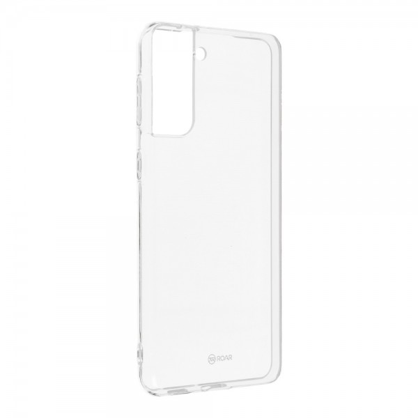 Husa Spate Slim Roar Jelly Pentru Samsung Galaxy S21 Plus 5g, Transparenta, Anti - Alunecare imagine itelmobile.ro 2021