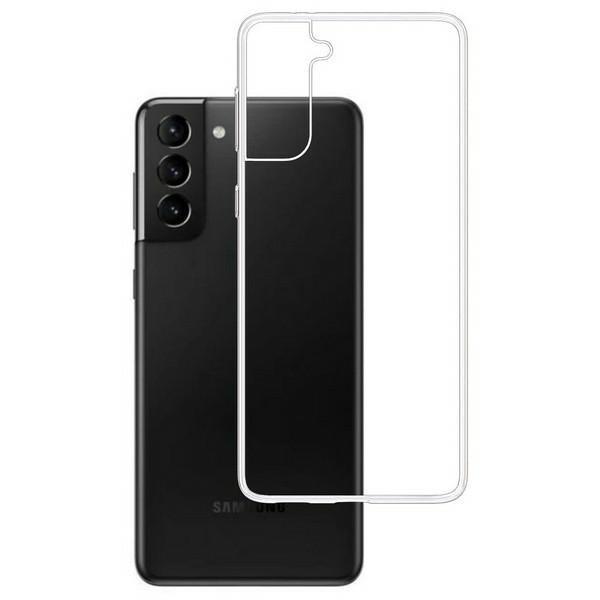 Husa Premium 3mk Pentru Samsung Galaxy S21, Transparenta, Anti - Alunecare imagine itelmobile.ro 2021