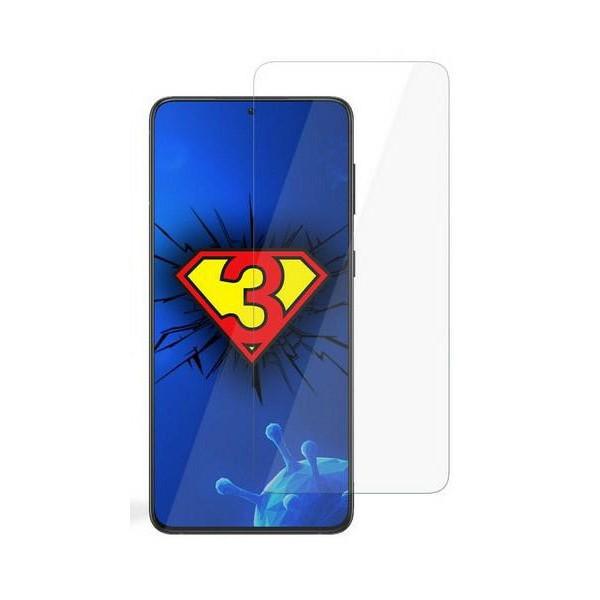 Folie Silicon 3mk Silver Protection Antimicrobian Compatibil Cu Samsung Galaxy S21, Transparenta, Ultra Rezistenta imagine itelmobile.ro 2021